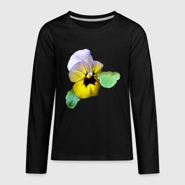 Pansy Pansy Saluting - Kids' Premium Long Sleeve T-Shirt