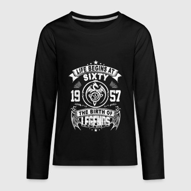 Birth Of A Legend THE BIRTH OF LEGENDS - Kids' Premium Long Sleeve T-Shirt