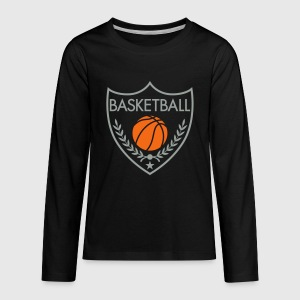 Basketball Coat of Arms by Freeyourshirt | Spreadshirt