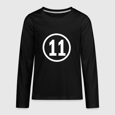 11 Year Old 11 years old birthday - Kids' Premium Long Sleeve T-Shirt