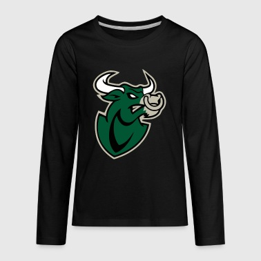 The green bull - Kids' Premium Long Sleeve T-Shirt