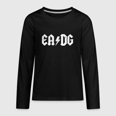 EADG Bass Player T Shirt Best Bass Player Gift Idea - Kids' Premium Long Sleeve T-Shirt