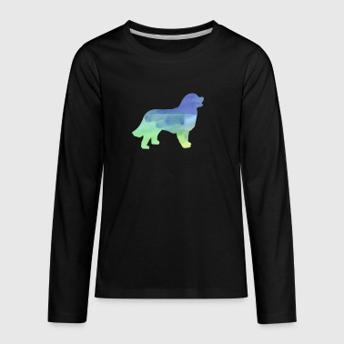 Water Color Clothes Bernese Mountain Dog - Kids' Premium Long Sleeve T-Shirt