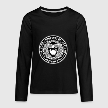 Rip Uncle Property Of Uncle Death Let It R.I.P. - Kids' Premium Long Sleeve T-Shirt