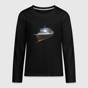 Cruise ship - Kids' Premium Long Sleeve T-Shirt
