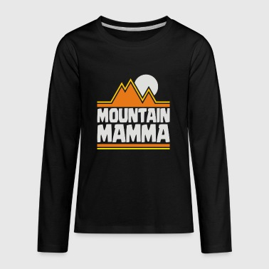 Mountain Mamma - Kids' Premium Long Sleeve T-Shirt