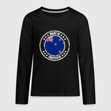 MADE IN SHEFFIELD - Kids' Premium Long Sleeve T-Shirt