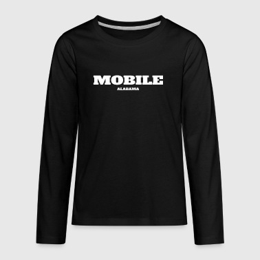 ALABAMA MOBILE US EDITION - Kids' Premium Long Sleeve T-Shirt
