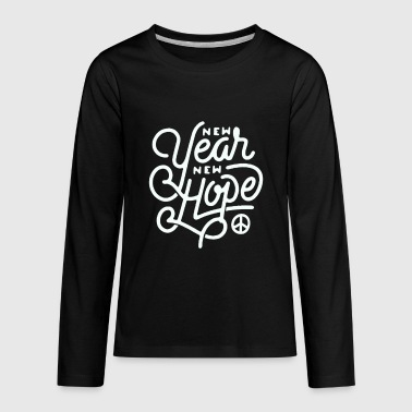 New year new hope - Kids' Premium Long Sleeve T-Shirt