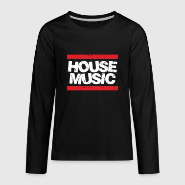 House Music - Kids' Premium Long Sleeve T-Shirt