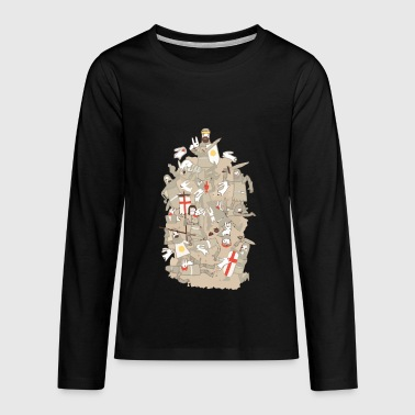 Rodent BAD TEMPERED RODENTS - Kids' Premium Long Sleeve T-Shirt