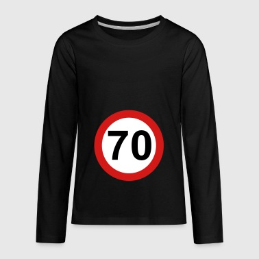 70s 70 - Kids' Premium Long Sleeve T-Shirt