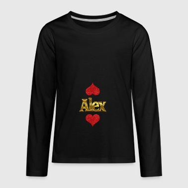 Alex - Kids' Premium Long Sleeve T-Shirt