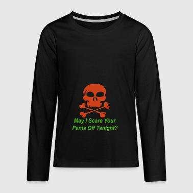 Pickup Line Halloween pickup line - Kids' Premium Long Sleeve T-Shirt