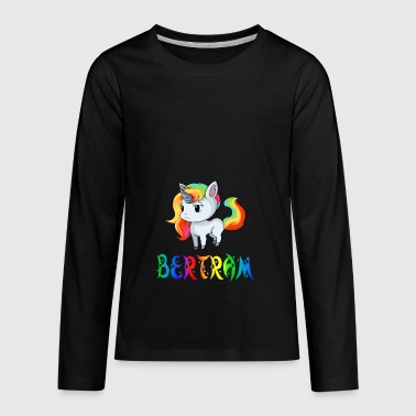 Bertram Unicorn - Kids' Premium Long Sleeve T-Shirt
