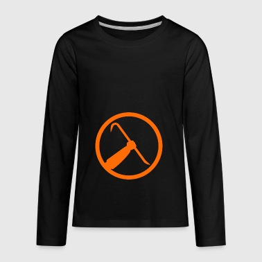 half life crowbar logo - Kids' Premium Long Sleeve T-Shirt