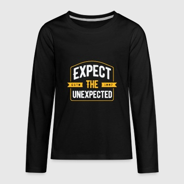 Expect The Unexpected - Kids' Premium Long Sleeve T-Shirt