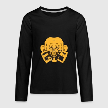 Atom Nuclear Radiation Explosion Science Gift - Kids' Premium Long Sleeve T-Shirt
