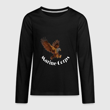 Marine Corps - Kids' Premium Long Sleeve T-Shirt