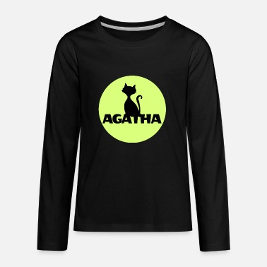 Name Day Agatha Name First name Name Motif name day - Kids' Premium Long Sleeve T-Shirt
