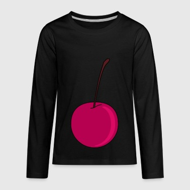 Cherry - Kids' Premium Long Sleeve T-Shirt