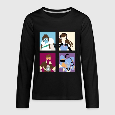 The World could use more heroes! - Kids' Premium Long Sleeve T-Shirt