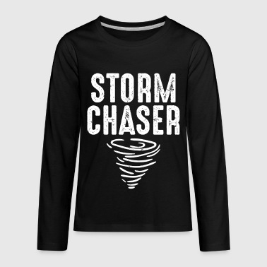 Storms Kids Cute Storm Chaser for Storm Lovers - Kids' Premium Long Sleeve T-Shirt