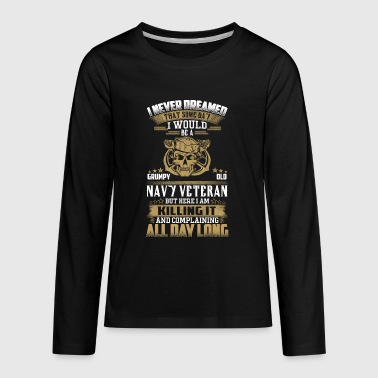 Navy veteran - Kids' Premium Long Sleeve T-Shirt