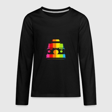 Polaroid SX-70 - Kids' Premium Long Sleeve T-Shirt