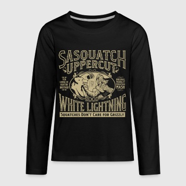Sasquatch Uppercut White Lightning - Kids' Premium Long Sleeve T-Shirt