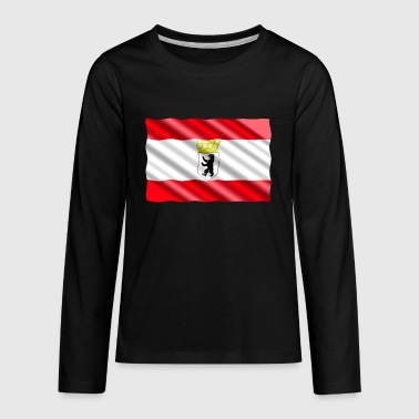 Berlin Flag - Kids' Premium Long Sleeve T-Shirt