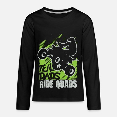 Motorsport ATV Quad Fathers Day - Kids' Premium Long Sleeve T-Shirt