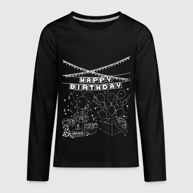 Treat you some special for your Birthday Gift idea - Kids' Premium Long Sleeve T-Shirt