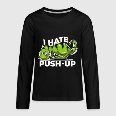Push Up - Kids' Premium Long Sleeve T-Shirt
