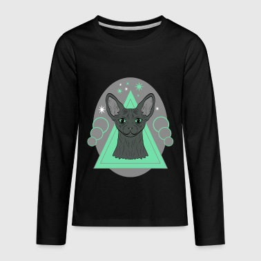 Sphynx Cat - Naked Cat - Kids' Premium Long Sleeve T-Shirt