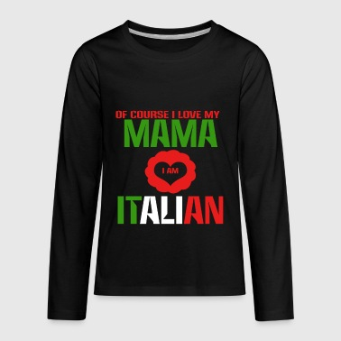Italian - Kids' Premium Long Sleeve T-Shirt