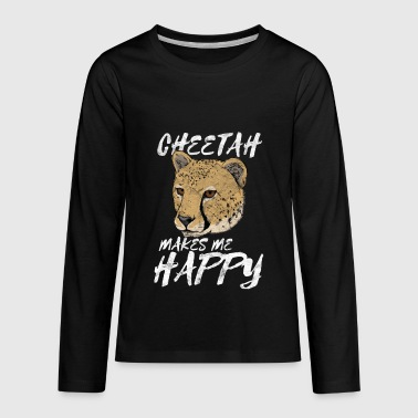 Animal Print Gift Cheetah - Kids' Premium Long Sleeve T-Shirt