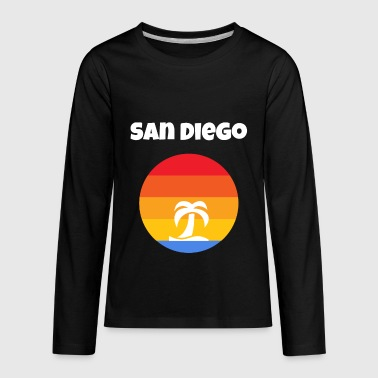 San Diego Beach California San Diego California - Kids' Premium Long Sleeve T-Shirt
