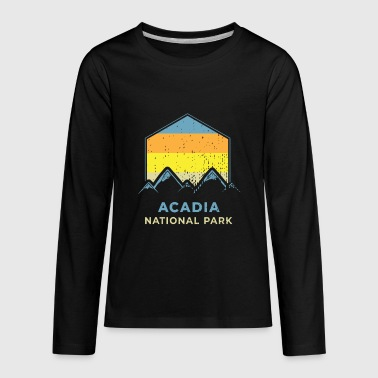 Acadia National Park Maine Acadia National Park Shirt - Kids' Premium Long Sleeve T-Shirt