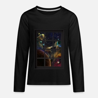 Universe Astronomy Outer Space Planets 9 - Kids' Premium Long Sleeve T-Shirt