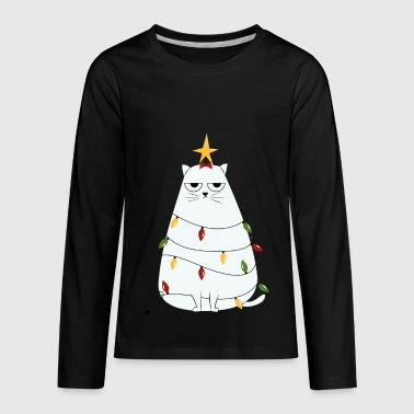 snow cat - Kids' Premium Long Sleeve T-Shirt