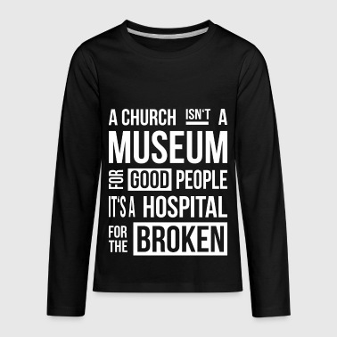 Church Museum - Kids' Premium Long Sleeve T-Shirt