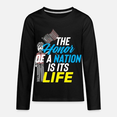 National Games NATION HONOR - Kids' Premium Longsleeve Shirt