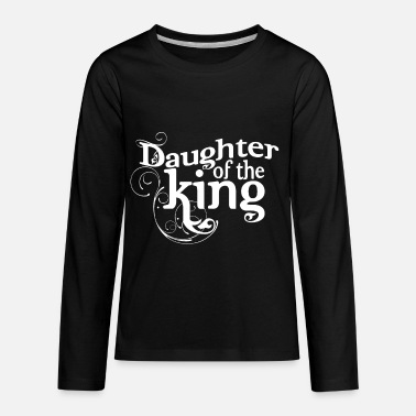 God Christian,Faith Tee, Religious Shirt, Daughter - Kids' Premium Longsleeve Shirt