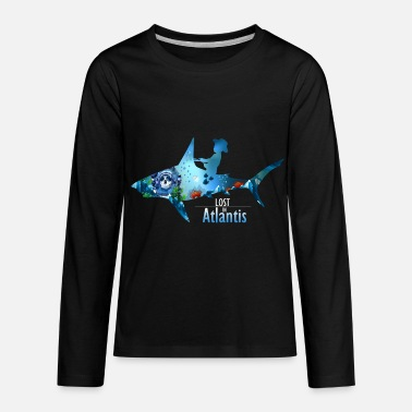 Atlantis Lost in Atlantis - Kids' Premium Longsleeve Shirt