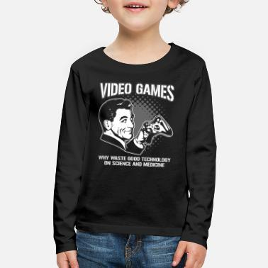 Video Games VIDEO GAMES - Kids' Premium Longsleeve Shirt