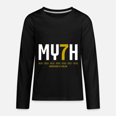 My7h Myth Campione Champions Italy 7 - Kids' Premium Long Sleeve T-Shirt