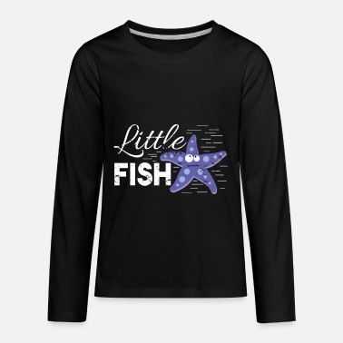 little Starfish kids baby children preschool - Kids' Premium Longsleeve Shirt