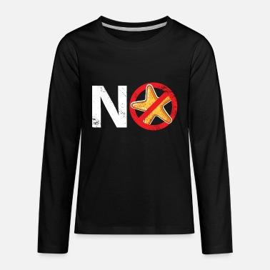 No Starfish funny summer gift holiday birthday - Kids' Premium Longsleeve Shirt