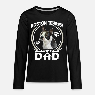 1870a8d76 Boston Terrier Dad Shirt Fathers Day Gift Dog Love Organic Short ...